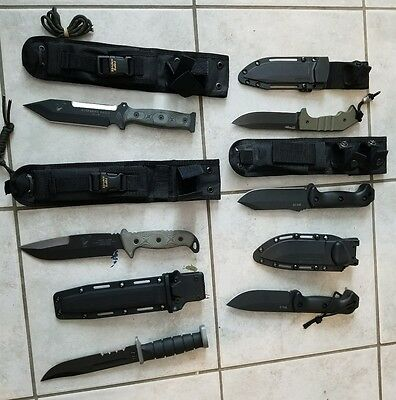 Survival knife group lot