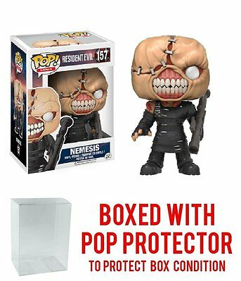 Funko Pop! Games: Resident Evil The Nemesis 157 11755 Protector case