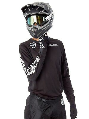 Troy Lee Designs MX Trikot 2018 SE Air Solo Schwarz