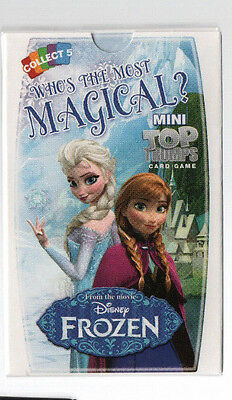 Mini Top Trumps Who's The Most Magical?  from Disneys Frozen - Free Post Packing