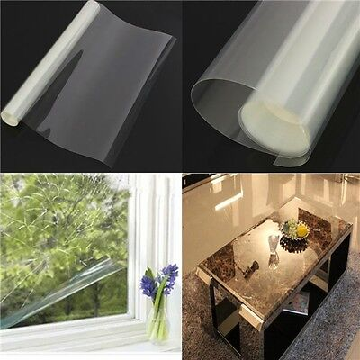 Transparent Window Safety Film Roll Glass Protection Anti Shatter 2M X 76cm