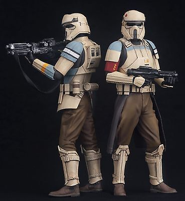 Star Wars Rogue One Scarif Shoretrooper ArtFX+ 1:10 Statue Stormtrooper 2-Pack