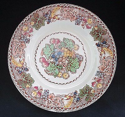 "Woods Burslem England Hyde Pattern Bread and Butter 6"" plate"