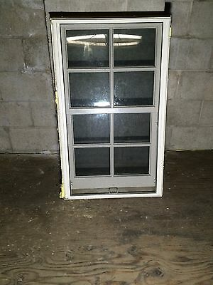 "Pella Double Hung Wood Window With Screen. 23 1/2""  X  37 1/2"""