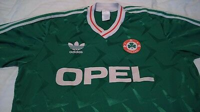 Ireland world cup 1990 home jersey