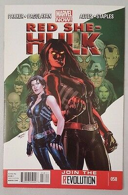Red She-Hulk #58 2012 Marvel Comics VF Flat Shipping