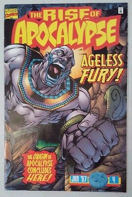 Rise of Apocalypse #4 1997 Marvel Comics VF Flat Shipping