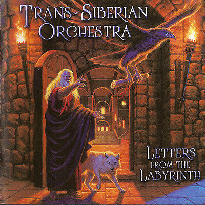 Trans-Siberian Orchestra ‎– Letters From The Labyrinth CD New