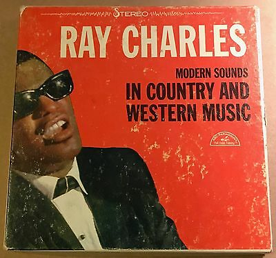 Ray Charles Modern Sounds In Country & Western Music 4 track 7 1/2 ips reel tape