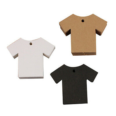 Price Tag Labels- T-Shirts 50 Pack (Black)