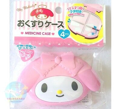 SANRIO My Melody KAWAII Resin Anime Medicine Small Accessory Case Partition