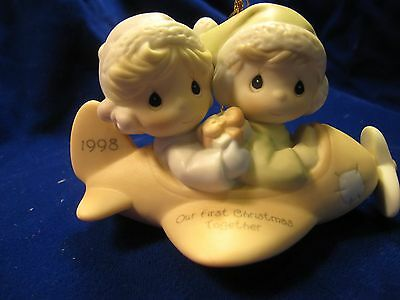 1998 Precious Moments Our First Christmas Together # 455636 Dated 1998 Brand New