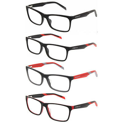 TAG Heuer 0554  B-URBAN Rectangle Prescription 56mm Eyeglasses Frames - Rx Ready
