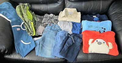 Boys Clothes Bundle 2-3 Years Jacket Joggers Jumpers Jeans Shorts Shirt Camo