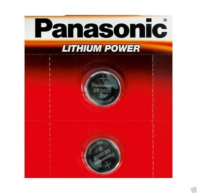 2 x Panasonic CR2025 3V Lithium Coin Cell Battery 2025