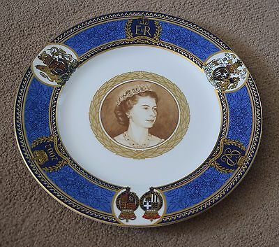 Two spode imperial limited edition plates of persia, circa 1971.