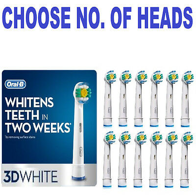 Oral-B 3D White electric toothbrush replacement Brush Heads