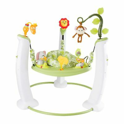 Exersaucer Baby Toddler Jump and Learn Jumper Fun Safari Friends Activity Center