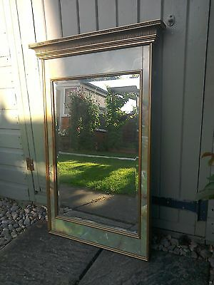 Antique Edwardian reproduction mirror absolutely stunning