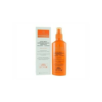 Collistar latte spray superabbronzante 200ml SPF6 viso e corpo