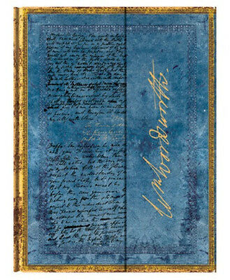 """Paperblanks Journal """"Wordsworth"""" LINED Ultra 7x9"""" Book Writing New"""