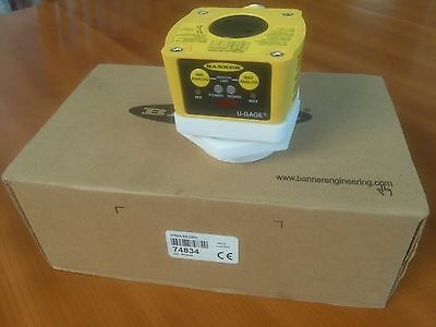 Banner Engineering Qt50Ulbq-Crfv U-Gage Ultrasonic Sensor, New In Box, Warranty