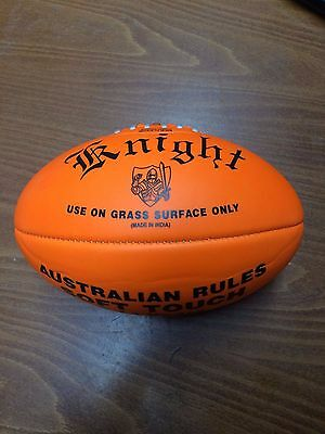 Orange Knight Sport Soft Touch Football - 9-11 Years