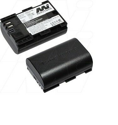 Battery For Canon Eos 5D 60D 7D 6D Mark Iii Lpe6 Lp-E6 1800Mah 7.4V Replacement