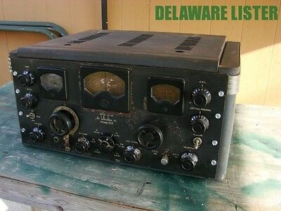 Antique Vintage Tube Shortwave Receiver Radio Hallicrafters SX-28 SX28