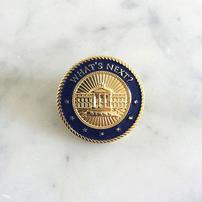 West Wing Weekly Lapel Pin