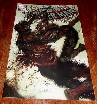 Web Of Spider-Man # 1 Vf/nm (2009 Marvel) Zombie Variant Edition Cover.