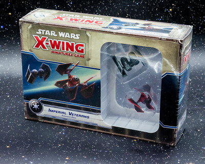 Star Wars X-Wing Miniatures Game Imperial Veterans Expansion - Aus Stock
