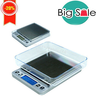 【USPS】 Digital Jewelry Precision Scale w/ Piece Counting ACCT-500 .01 g SALE CE
