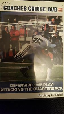 Defensive Line Play: Attacking the Quarterback --- Anthony Grazzini -- Coaching