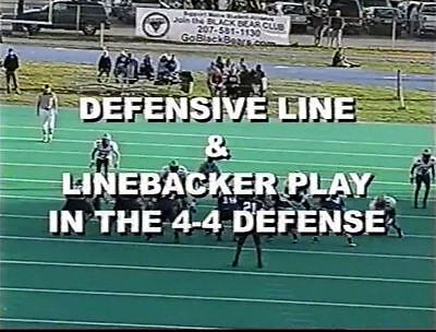 Defensive Line & Linebacker Play In The 4-4 Defense -- Gillenwater and Price