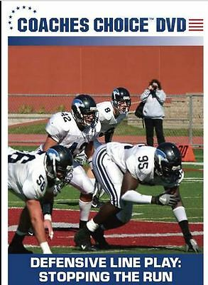 Football Coaching DVD - Defensive Line Play: Stopping The Run - Anthony Grazzini