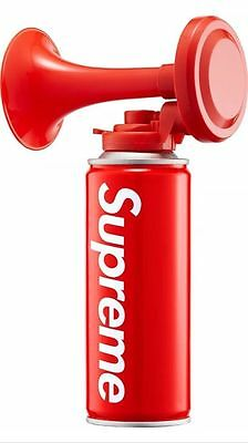 Supreme 15F/W Air Horn Bell Box Logo 1000% Authentic