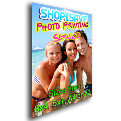Personalised Photo Printing Service Any Image, 6x4, 5x7, A4 or A3 Wall Art