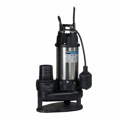 "3"" SV-750A Auto Trash Pump 110V"