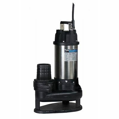 "3"" SV-750 Manual Trash Pump 110V"