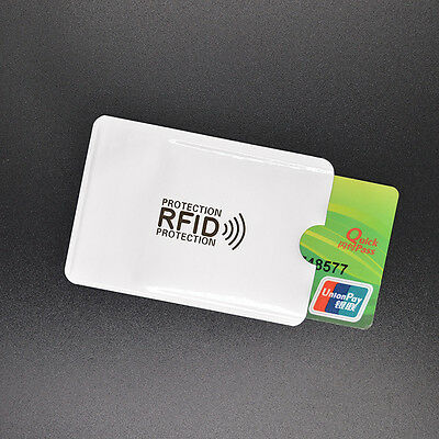 3x Card Minder RFID Blocking Contactless Debit Credit Protector Sleeve Wallets