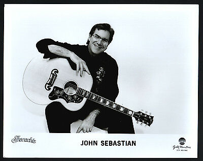 John Sebastian, Rock-music-Musik, Songwriter singer Pressefoto, press photo /118