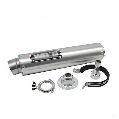 Universal Modified Motorcycle Exhaust Pipe For WRS Exhaust Muffler CB400 CBR400