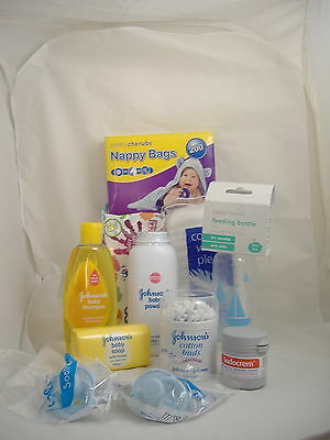 Baby New Born Starter Pack - Shampoo, Baby Powder, Cotton Buds, Baby Soap, Etc.