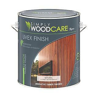 UVEX Timber Finish Decking & Wood Care Paint Painting