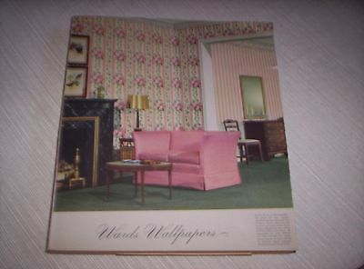 Vintage  1943 Montgomery Ward Wall Paper Sample Catalog/book  Nice!!!