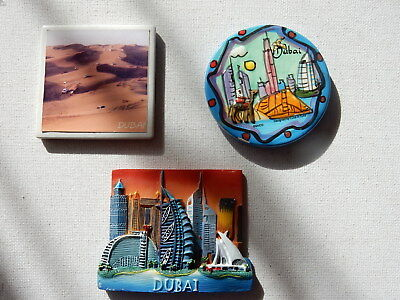One Selected Souvenir Fridge Magnet from Dubai