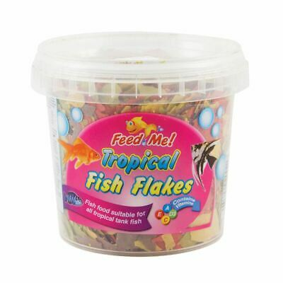 151 Feed Me Tropical Fish Food Flakes Suitable All Tropical Tanks Aquarium - 50g