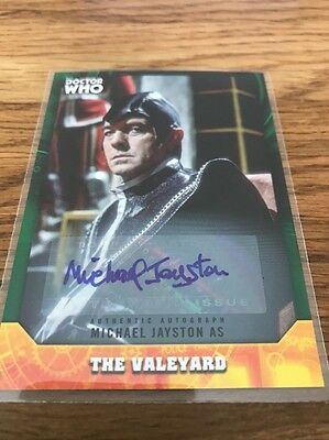 Topps Dr Who Signature Series Michael Jayston 03/50 As The Valeyard Auto Card