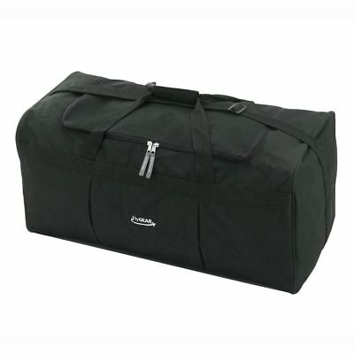 Large Travel Weekend Cargo Luggage Holdall Duffle Overnight Sports Bag Black